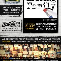 "For Immediate Release: Exclusive screening of the documentary, ""Erasing Family!"" (FREE Event)"